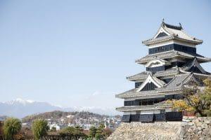 長野県松本市の松本城
