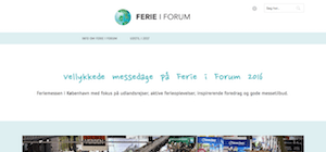 Copenhagen Travel Fair Ferie I Forum