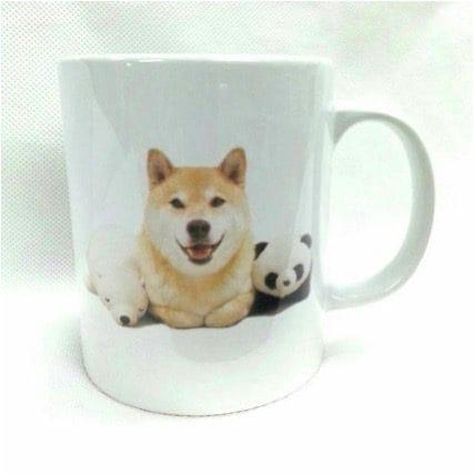 柴犬まるマグカップ