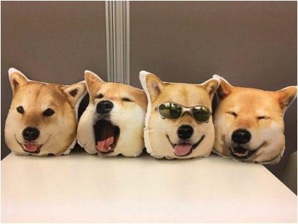 柴犬まるクッション