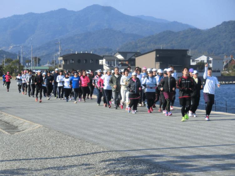 河川敷を観光資源として活用した事例3:徳島県 とくしまマラソン