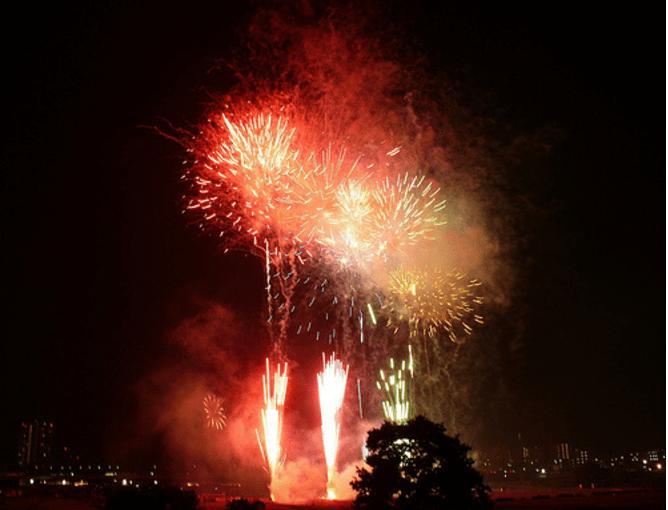 河川敷を観光資源として活用した事例5:神奈川県 全国花火競技会多摩川花火大会