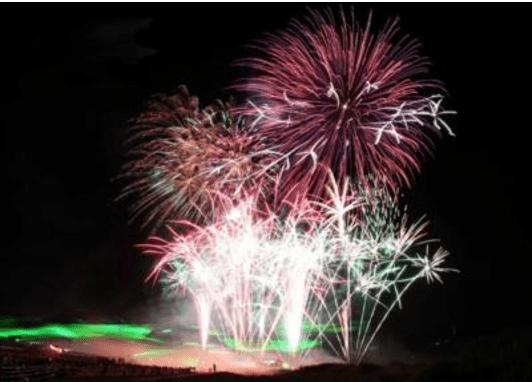 河川敷を観光資源として活用した事例6:奈良県 吉野川まつり納涼花火大会