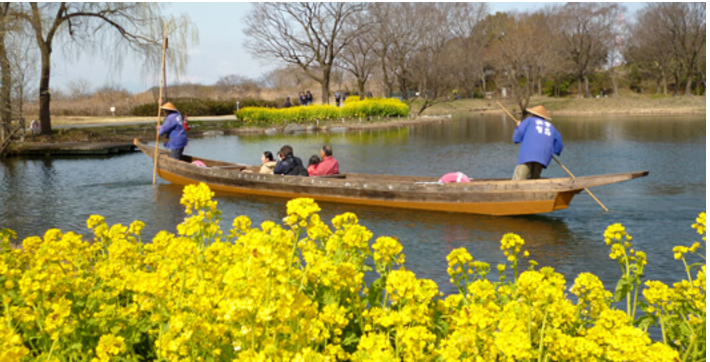 多機能化した公園の取り組み事例3:愛知県・岐阜県・三重県 国営木曽三川公園 河川環境楽園