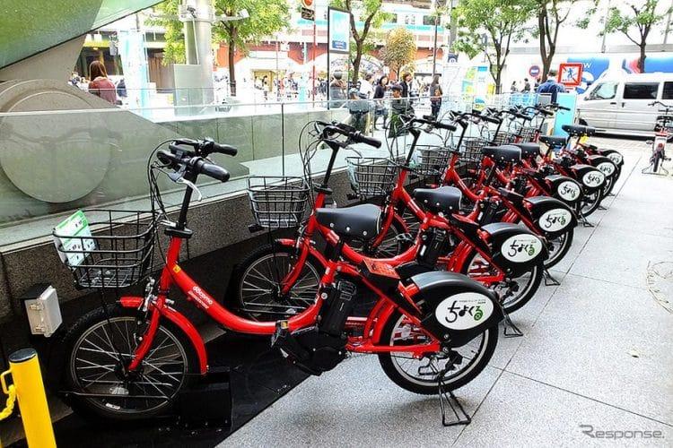 【東京のインバウンド向け自転車レンタルサービス①】ドコモコミュニティサイクル:レスポンスより