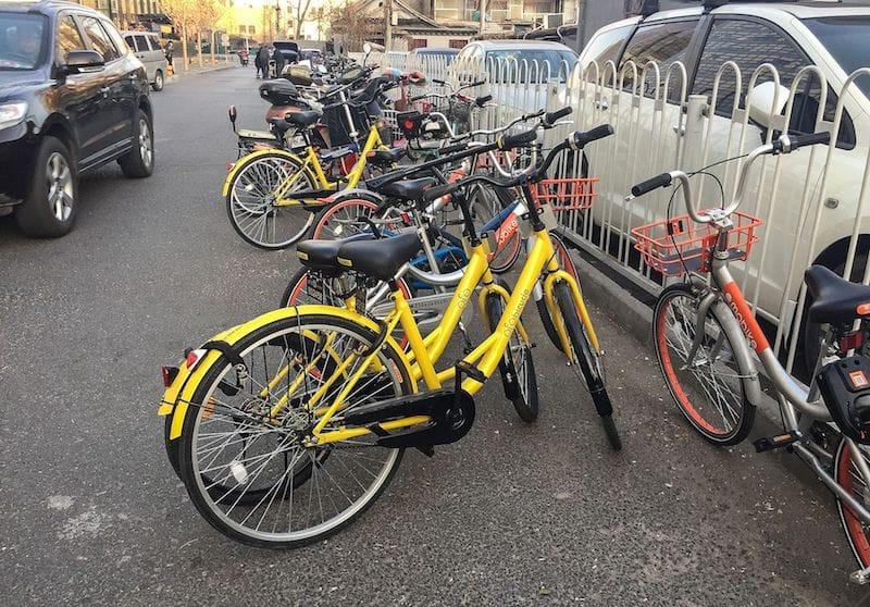 中国でシェアを広げる自転車シェアリングサービス「Ofo」:photo by N509FZ