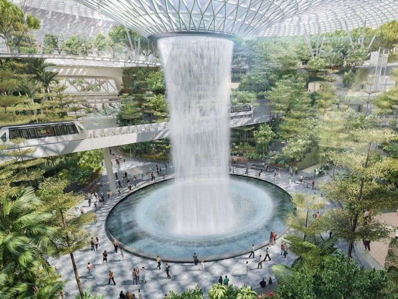 引用:Jewel Changi Airport Devt.