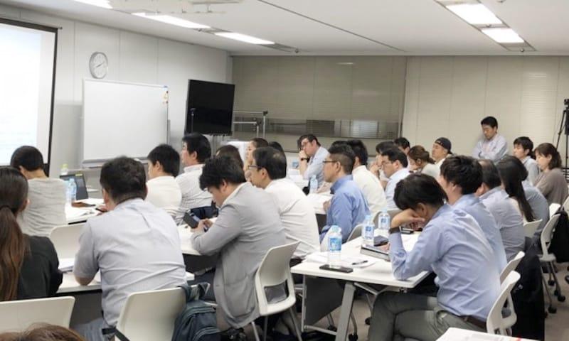 EDAS主催の『在留資格(ビザ)』セミナー・出席率100%だった会場の様子
