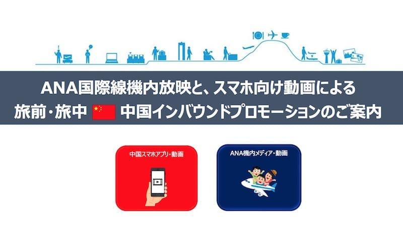 ANA国際線機内放映 旅中(タビナカ)中国インバウンドプロモーション