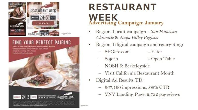 レストランウィークなどを積極展開するナパバレー 観光庁主催「日本版DMOの形成に向けて」基調講演・Clay Greregory氏プレゼンより