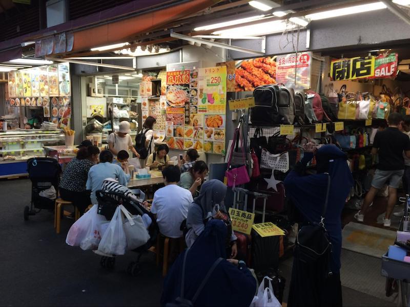 上野アメ横市場商店街