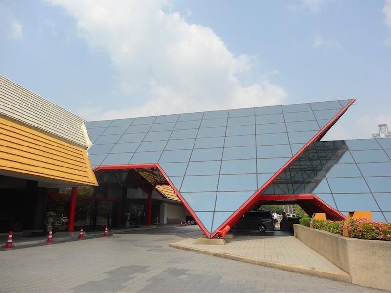 ▲会場のクイーンシリキットコンベンションセンター