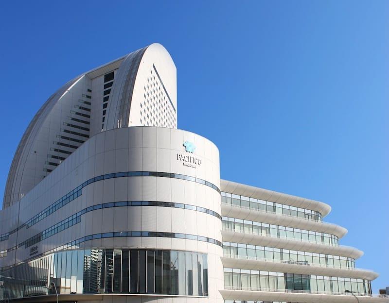 年間400万人を超える来場者があるパシフィコ横浜