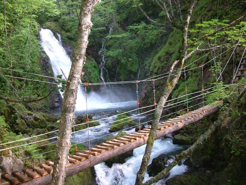 ▲五色ヶ原では、ハイキングコースが完備。