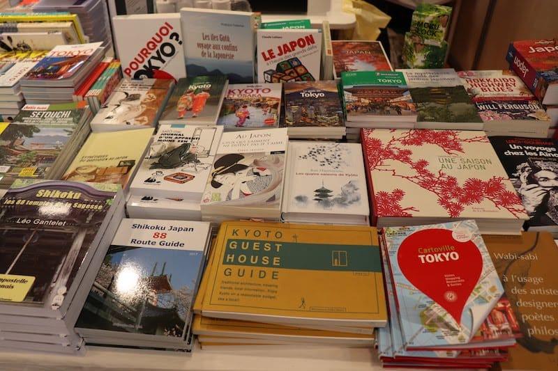 ▲桜や浮世絵など日本を象徴する表紙も