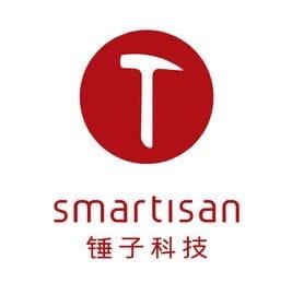 ▲Smartisan(锤子科技)のロゴ。「锤子=トンカチ」をモチーフにしている