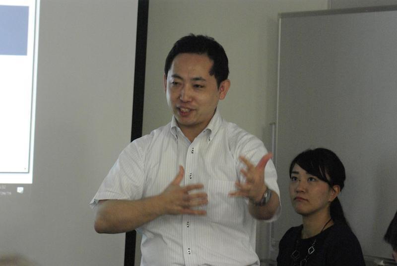 災害対策の基本を語る松本氏
