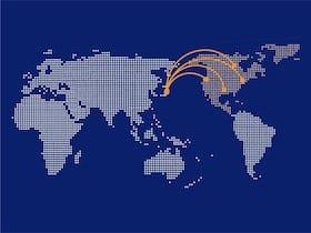 北アメリカからの訪日外国人