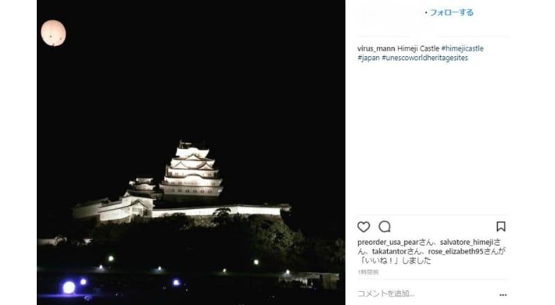 夜間に姫路城を訪れるインバウンドも増加?イルミネーション効果か