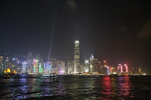 「100万ドルの夜景」で知られる香港